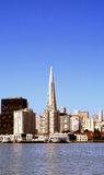 De Bouw van San Francisco Transamerica royalty-vrije stock foto's