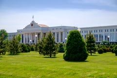 De bouw van senaat in centrum van Tashkent royalty-vrije stock afbeelding
