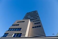 De Bouw van Siemens, het nieuwe hoofdkwartier van Genoa Siemens Italy/wolkenkrabber/de bouw/industrie/handel royalty-vrije stock afbeeldingen