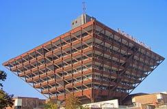 De bouw van Slowaakse Radio in Bratislava Royalty-vrije Stock Foto's