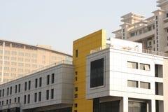De bouw van stad Stock Afbeelding