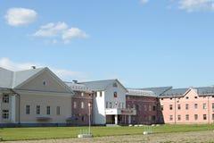 De bouw van Suzdal-het beleid van het gebied Stock Fotografie