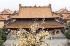 De bouw van de tempel stock afbeelding