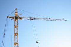 De bouw van torenkraan Stock Foto's