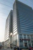 De Bouw van Tsinghuatongfang in Peking Stock Afbeeldingen