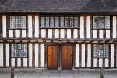 De bouw van Tudor Royalty-vrije Stock Afbeeldingen