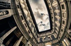 De Bouw van Uffizi in Florence royalty-vrije stock afbeelding