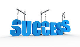 De bouw van uw Succes Stock Illustratie