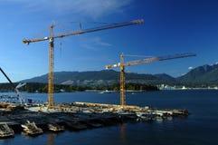 De Bouw van Vancouver Stock Afbeeldingen