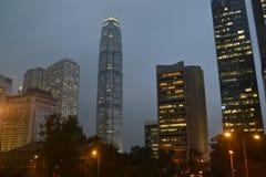 De bouw van VCentral in Hong Kong royalty-vrije stock afbeeldingen