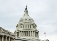 De Bouw van Washington DCcaptiol Royalty-vrije Stock Afbeelding