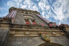 De bouw van Wijnmakerij in Yalta stock foto's