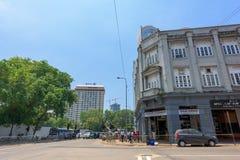 De bouw van York Buiding in Colombo Stock Afbeeldingen