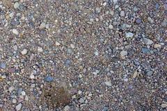 De bouw van zand met de textuurachtergrond van het stenenpatroon royalty-vrije stock foto's