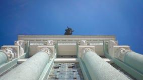 De bouwarchitectuur kolonnasm stock foto