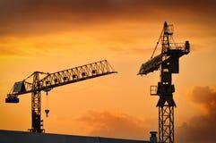 De bouwconstructie Stock Foto's