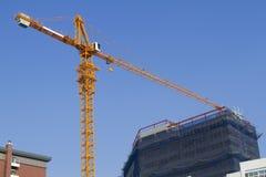 De bouwconstructie van de kraan Royalty-vrije Stock Afbeelding