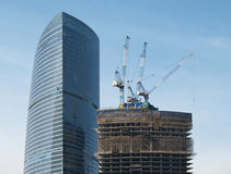 De bouwconstructie van het bureau Royalty-vrije Stock Fotografie