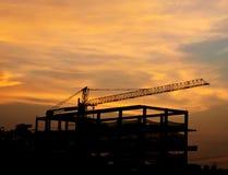 De bouwconstructieplaats Royalty-vrije Stock Afbeeldingen