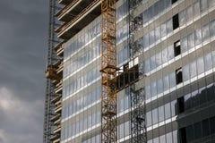 De bouwconstructieplaats van het bureau Royalty-vrije Stock Foto's