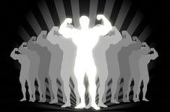 De Bouwer van het lichaam! Vector Illustratie