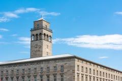 De Bouwflat Woonconstructi van Karlsruhe Volkswohnung Stock Fotografie