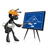 De bouwpresentatie Royalty-vrije Stock Afbeeldingen