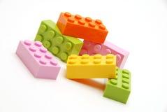 De bouwstenen van de pastelkleur Royalty-vrije Stock Foto