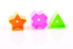 De bouwstenen van het stuk speelgoed Stock Afbeelding
