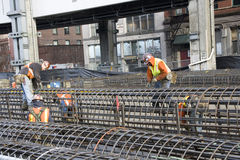 De bouwvakkersbouw Royalty-vrije Stock Fotografie