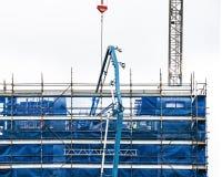 De bouwvooruitgang 123 Bij 47 Beane St Gosford September 2018 royalty-vrije stock foto