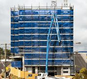 De bouwvooruitgang 128 Bij 47 Beane St Gosford September 2018 royalty-vrije stock foto's