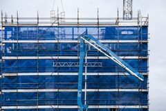 De bouwvooruitgang 127 Bij 47 Beane St Gosford September 2018 stock foto