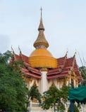 De bovenkant van buddatempel van Koninklijk klooster Wat Chuai Mongkong in Pattaya royalty-vrije stock afbeeldingen
