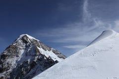 De bovenkant van de berg Royalty-vrije Stock Foto's