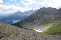 De bovenkant van de berg Stock Foto