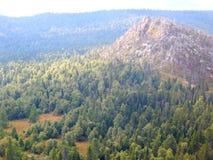 De bovenkant van de berg Royalty-vrije Stock Afbeeldingen