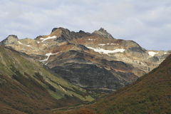 De bovenkant van de berg Royalty-vrije Stock Fotografie