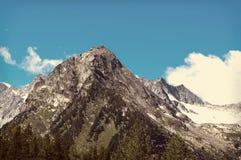 De bovenkant van de berg Royalty-vrije Stock Foto