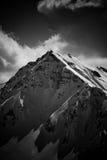 De bovenkant van de berg - top royalty-vrije stock foto's