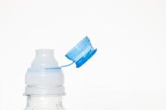 De Bovenkant van de Fles van het water royalty-vrije stock afbeelding