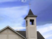 De bovenkant van de kerk royalty-vrije stock foto's