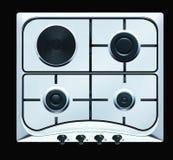 De bovenkant van de oven Stock Fotografie