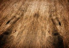 De bovenkant van de perspectieflijst, houten textuur Royalty-vrije Stock Foto's