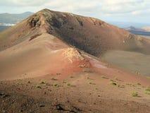 De bovenkant van de vulkaan Royalty-vrije Stock Afbeeldingen