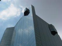 De Bovenkant van de wolkenkrabber stock foto