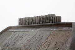 De bovenkant van Fansipan-berg stock foto's