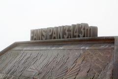 De bovenkant van Fansipan-berg royalty-vrije stock foto's