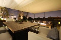 De bovenkant van het dak Royalty-vrije Stock Foto