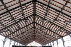 De bovenkant van het dak Stock Afbeeldingen